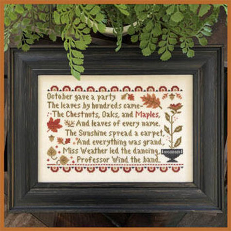 October's Party - by Littlehouse Needleworks
