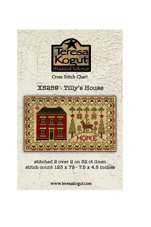 Tilly's House xs259 by Teresa Kogut