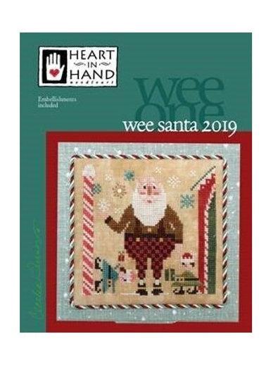 Wee Santa 2019 - Heart in Hand - Cross Stitch Pattern