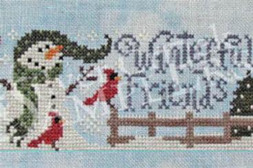 Winterful Friends - Silver Creek Samplers - Cross Stitch Pattern