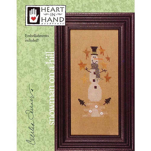 Snowman On A Hill - by Heart In Hand
