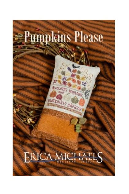 Pumpkins Please - by Erica Michaels - Cross Stitch Pattern