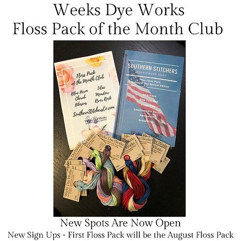 Weeks Dye Works - Floss Pack of the Month Club