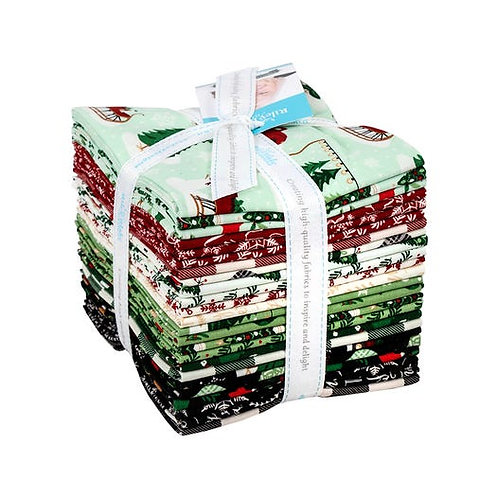 Christmas Traditions Fat Quarter Bundle -  Dani Mogstad for Riley Blake Designs