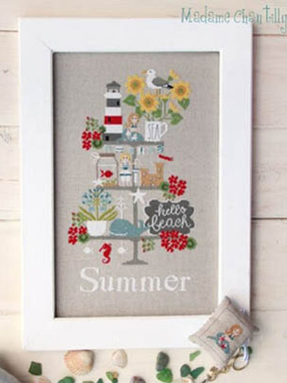 Celebrate Summer - Madame Chantilly - Cross Stitch Pattern