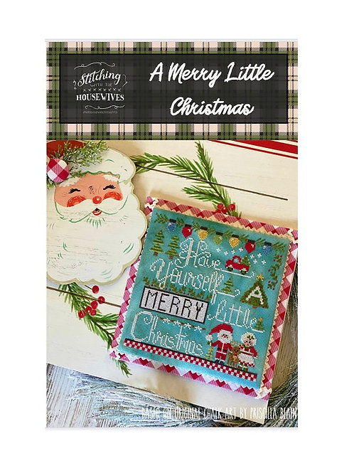 A Merry Little Christmas - Stitching With the Housewives
