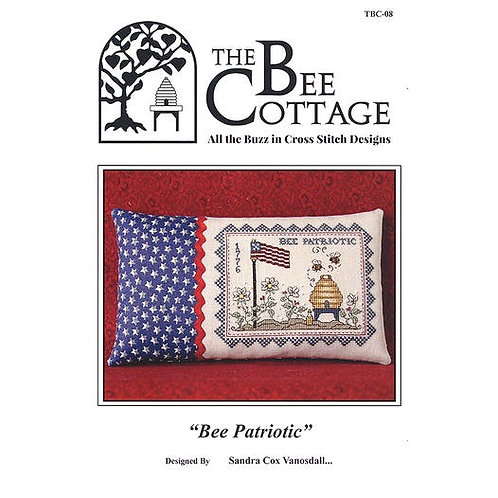 Bee Patriotic - by the Bee Cottage