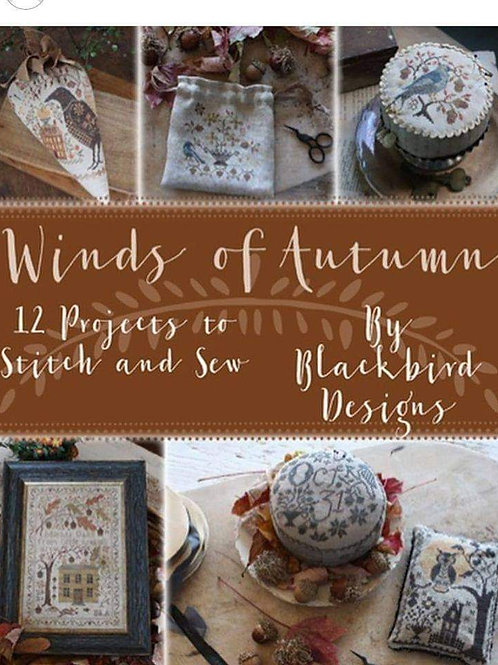 Winds of Autumn (12 Designs) - Blackbird Designs
