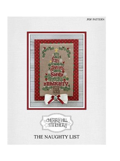 The Naughty List - Cherry Hill Stitchery