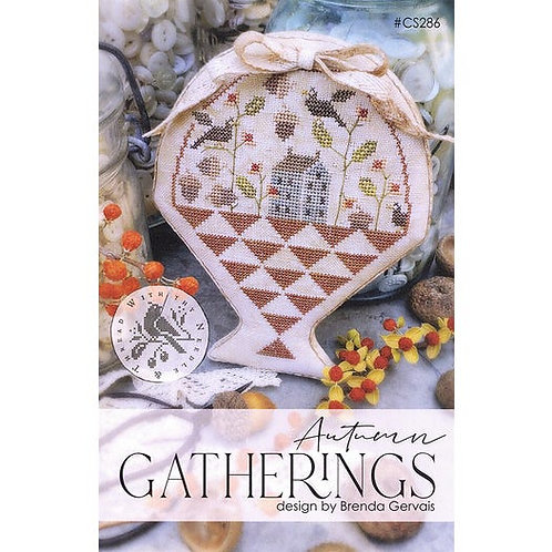 Autumn Gatherings by With they Needle and Thread - Cross Stitch Pattern