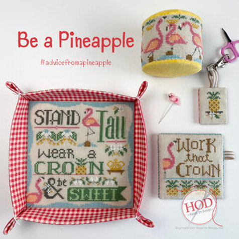 Be A Pineapple - Hand on Design - Cross Stitch Patter