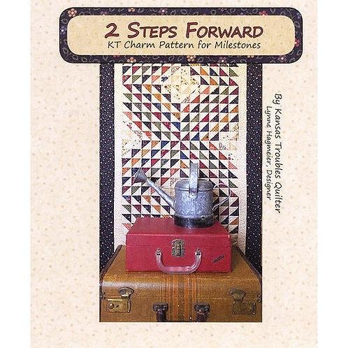 2 Steps Forward Quilt Pattern - KT Charm Pattern