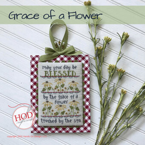 Grace of a Flower - by Hands On Design - Cross Stitch Pattern