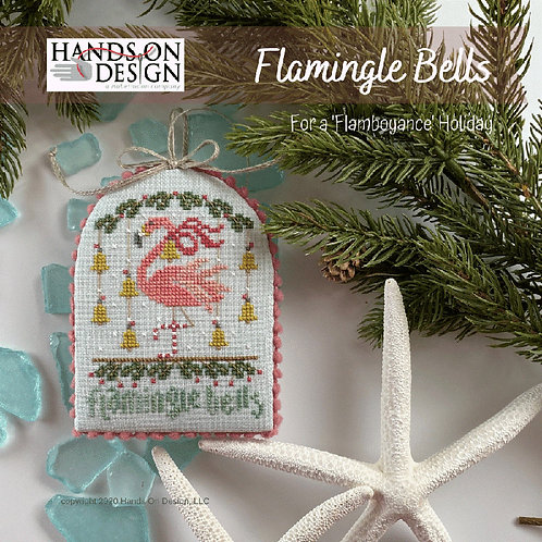 Flamingle Bells - 'Flamboyance' Holiday by Hands On Design