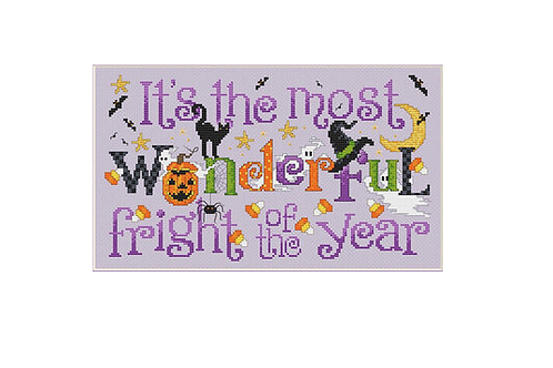Wonderful Fright - Sue Hillis - Cross Stitch Pattern