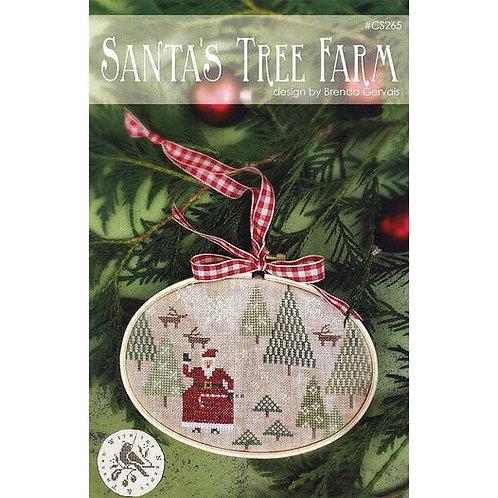 Santa's Tree Farm - by With Thy Needle & Thread