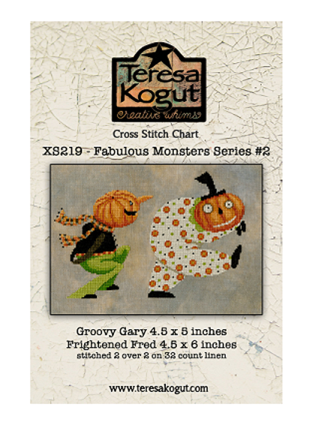 Fabulous Monsters Series #2 - Teresa Kogut - Cross Stitch Pattern