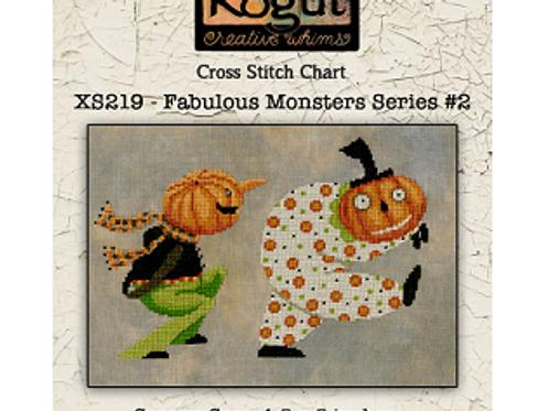 Fabulous Monsters Series #2 - Teresa Kogut - Cross Stitch Pattern