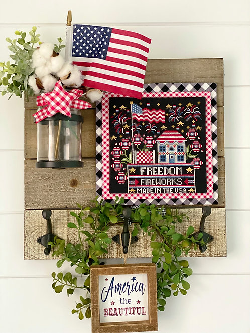 Calendar Crates July - Stitching With the Housewives