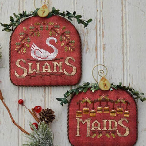 Swans & Maids - 12 Days - by Hands On Design