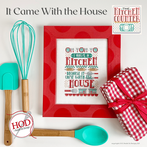 It Came With The House - 2nd in Kitchen Counter Series - by Hands On Design