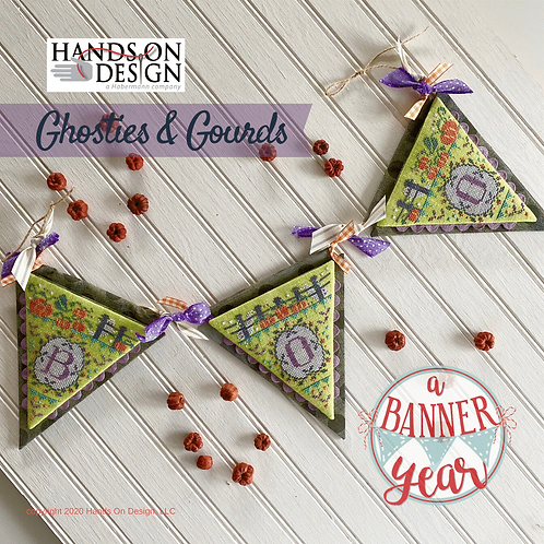 Ghosties & Gourds - A Banner Year - Hands On Design
