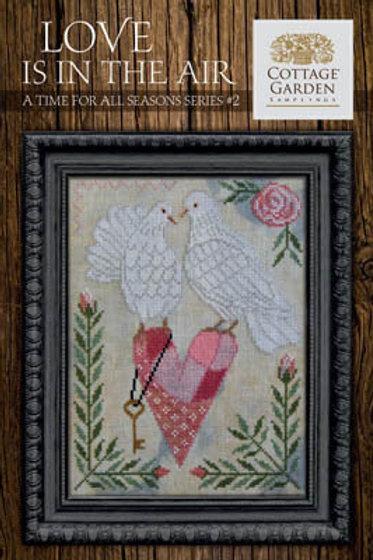Love Is In The Air - by Cottage Gardn Samplings