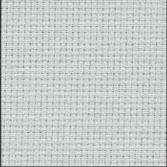 14 Count Mystic Grey Aida Fabric