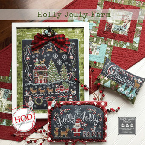 Holly Jolly Christmas - Hands On Design - Cross Stitch Pattern