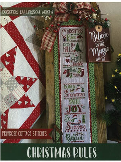 Christmas Rules - by Primrose Cottage Stitches