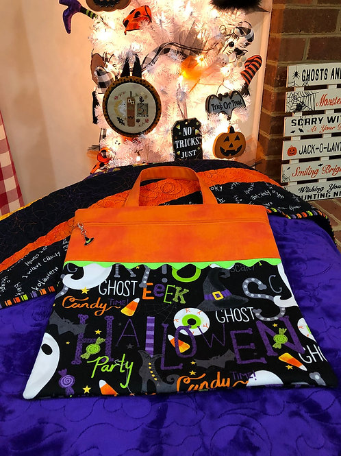 Spooky Halloween Project Bag - by Gingham Bags designed C. Lynn