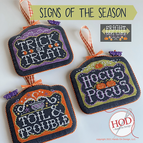 Fright This Way Series - Signs of the Seasons - by Hands on Design