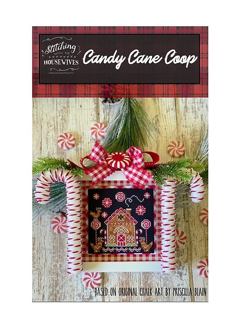 Candy Cane Coop - Stitching With the Housewives