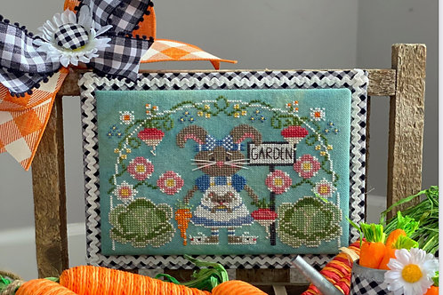 Bunny Garden - Stitching with The Housewives