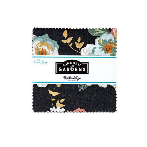 Gingham Gardens - 5in Stacker - by My Minds Eye for Riley Blake