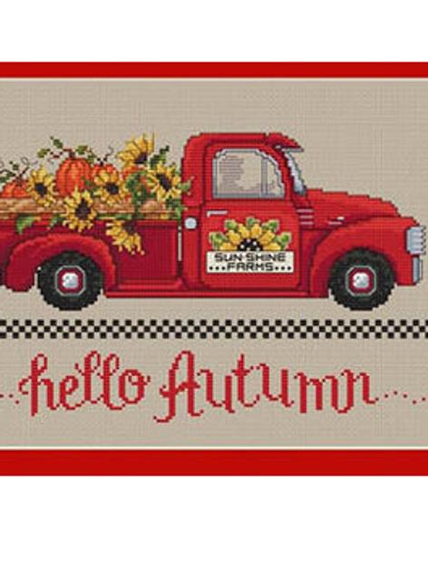 Hello Autumn - Sue Hillis - Cross Stitch Pattern