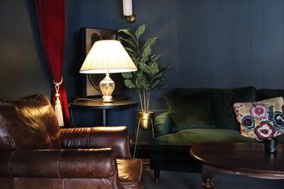 Comfy sofa corner