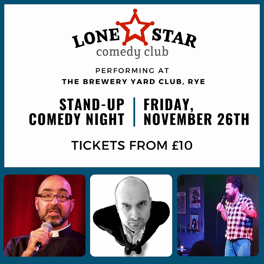 Lone Star Comedy Club | Stand-Up @ The BYC