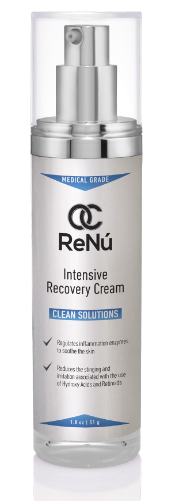 Soothes skin, removes irritation, reduces stinging associated with the use of hydroxy acids and retinoids