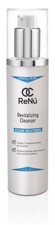 Hydrating and gentle cleanser with anti-aging ingredients for sensitive skin leaving it soft, smooth and younger looking