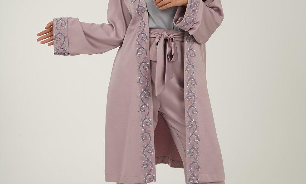 Crepe Coat Jalabiya