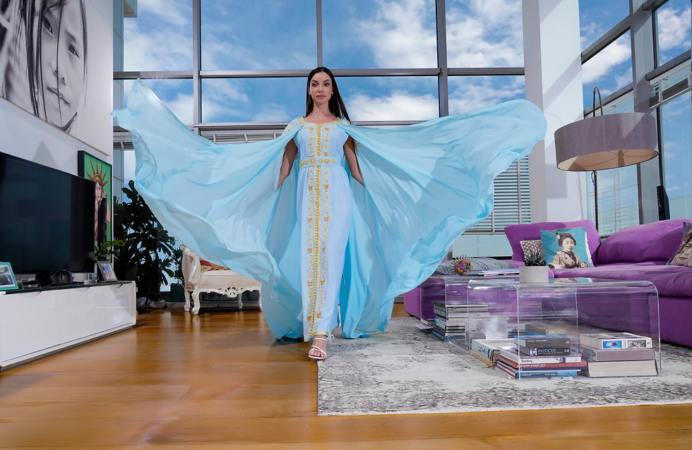 Jalabiya Dress-Mamlakat
