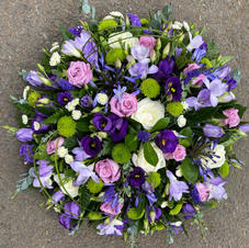 Purple and lilac posie from £35