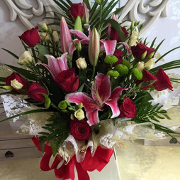 Lily and Rose bouquet £65