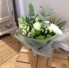 Hand tied in whites/greens from £30
