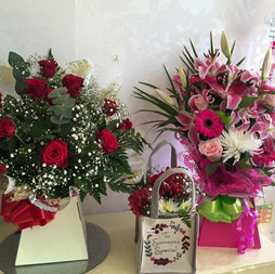 Beautiful box bouquets avalible from £30