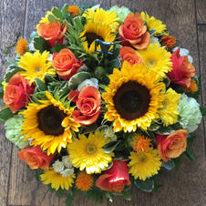 Posie orange and yellow from £35