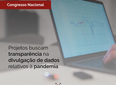 Projetos buscam transparência na divulgação de dados relativos à pandemia