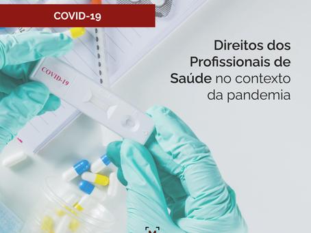 Direitos dos Profissionais de Saúde no Contexto da Pandemia de Covid-19