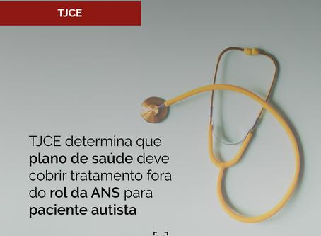 TJCE determina que plano de saúde deve cobrir tratamento fora do rol da ANS para paciente autista